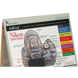 Blue Crane Inbrief Guide for Nikon D40 Digital Camera: Picture 1 regular