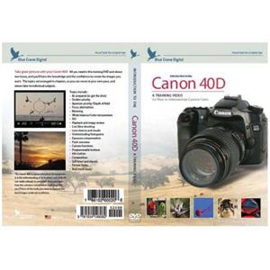 Blue Crane DVD: Introduction to Canon 40D DSLR: Picture 1 regular
