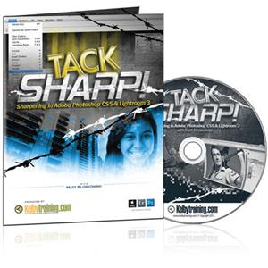 Kelby Training DVD: TACK SHARP! Sharpening in Adobe CS5 and Lightroom 3: Picture 1 regular