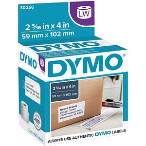 Dymo 30256 2-5/16x4 inch Shipping Labels, 300 Per Roll: Picture 1 regular