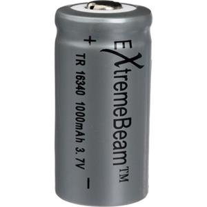 ExtremeBeam Tungsten Carbide Rechargeable CR123 Battery: Picture 1 regular