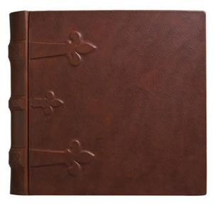 Eccolo 14x14in Large Monastic Album, 50 Sheets, Brown: Picture 1 regular
