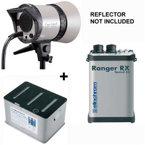 Elinchrom Ranger RX Speed AS Asymetrical 1100 Watt Second Battery Operated Power Pack Kit EL 10267KITA