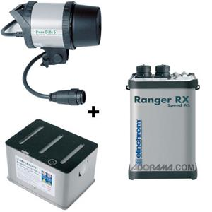Elinchrom Ranger RX Speed AS Asymetrical 1100 Watt Second Battery Operated Power Pack Kit EL 10267KITS