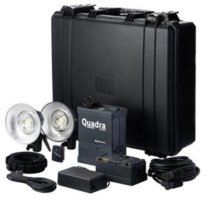 Elinchrom Ranger Quadra Hybrid Lead-Gel Pro Set A Heads