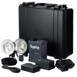 Elinchrom Ranger Quadra Hybrid Lead-Gel Pro Set S Heads