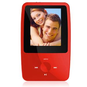 Ematic eSport Clip 4GB MP3 Video Player EMS004RD