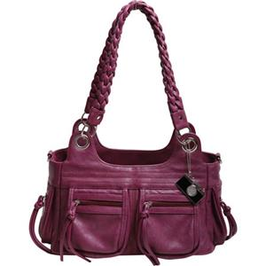 Epiphanie Stella Shoulder Bag, Plum: Picture 1 regular