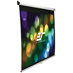 Elite Screens Manual SRM Pull Down Wall and Ceiling Projection Screen M120XWH2-SRM