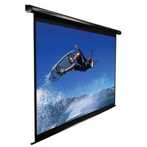 Elite Screens PLUS4 VMAX2 Large Size Electric Wall and Ceiling Projection Screen VMAX180UH PLUS4