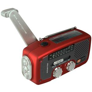 Eton Microlink FR160 Self-Powered AM/FM/NOAA Weather Radio NFR160WXR