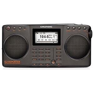 Eton G2 AM/FM Shortwave Portable Radio Recorder, Black: Picture 1 regular
