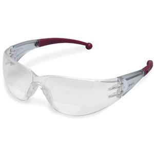 Elvex RX-400 Clear Polycarbonate BiFocal Safety Glasses RX40020