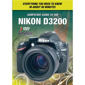 JumpStart Video Training Guide on DVD f/Nikon D3200 Digital Camera: Picture 1 regular