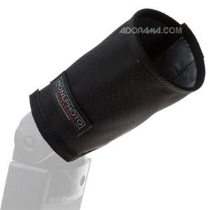 Honlphoto 5in Shorty Speed Snoot for On-Camera Strobes: Picture 1 regular