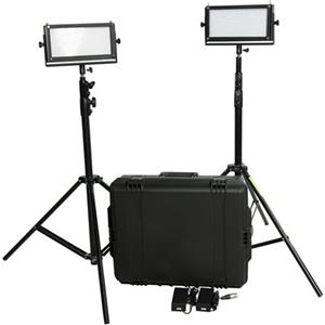 FloLight KITLED2X5V-HARD-DS LED Video Lighting Kit: Picture 1 regular