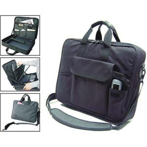 Florence Laptop Bag Basic Model 13inx17inx3.5in, Black: Picture 1 regular