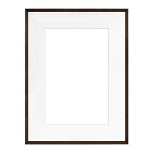 Framatic Woodworks Dark Espresso Frame for 18x24in: Picture 1 regular