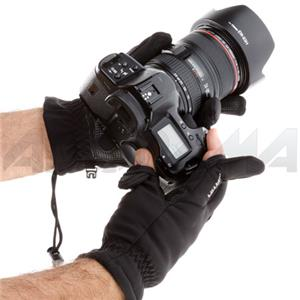Flashpoint Finger Shooting Glove, Size: Large - Black: Picture 1 regular