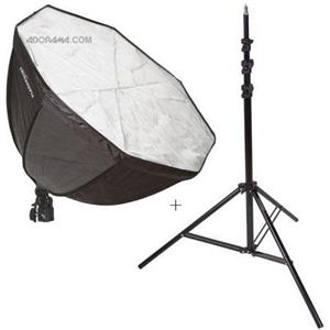 Flashpoint Fluorescent Light Kit, 22in Octagon Soft Box: Picture 1 regular