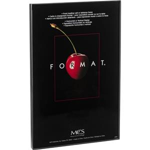 MCS 12549 Plastic Format Frame for 11x17in Photo,Black: Picture 1 regular