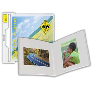 Itoya ZigZag Frost Image Bound Photo Album for 8x8