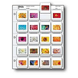 Print File 500270 Archival 35mm Slide Pages Pack of 25: Picture 1 regular