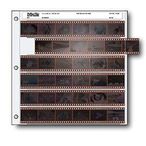 Print File Archival 35mm Size Negative Pages Holds Six Strips 0100060