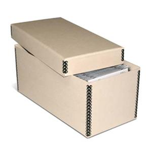 Print File Tan 2-piece CD/DVD Storage Box 2131010