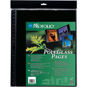 Itoya Art Profolio 11x17in Clear Pages, 10-Pack: Picture 1 regular