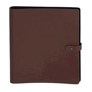Prat Pampa Book, 20-11x8.5in Protectors, Dark Brown: Picture 1 regular