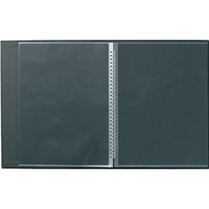 Prat Laser Modebook, 12-9.5x12.5in Protectors, Black: Picture 1 regular