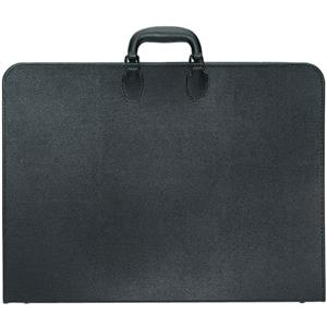 Prat Paris Start 2 Portfolio Case, 20x26x1in, Black: Picture 1 regular