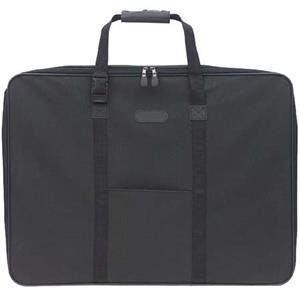 Prat SF31 Softside Zippered Portfolio, 31x23x3in, Black: Picture 1 regular