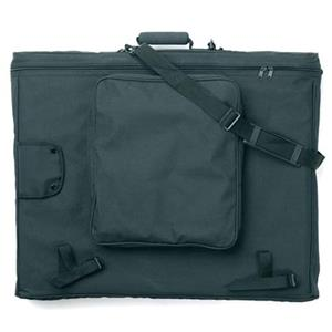 Prat SF3 Softside Zippered Portfolio, 26x20x3in, Black: Picture 1 regular