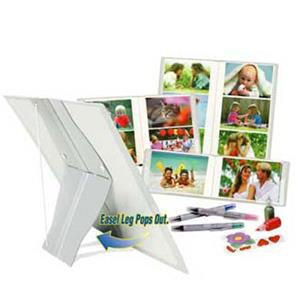 "Itoya ""Pop Goes The Easel"" Standing Photo Album ESOL120BK"