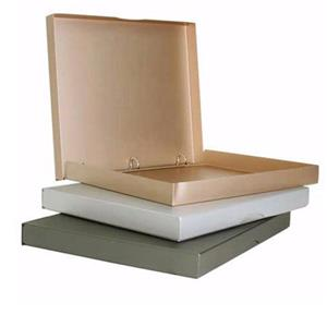SOS Slim Clamshell 11x14x1in 3 Ring Binder, Copper: Picture 1 regular