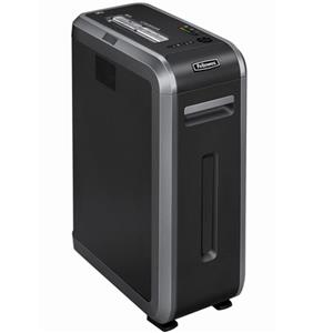 Fellowes Powershred 125i Strip Cut Shredder, Black/Silver: Picture 1 regular