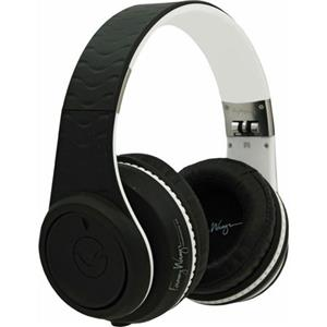 Fanny Wang 2000 Series Over-Ear DJ Headphones FW-2003-BLK-WHI