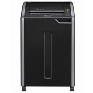 Fellowes Powershred C-480C Cross Cut Shredder, Black/Silver: Picture 1 regular