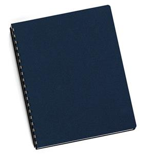 Fellowes Futura Navy Blue Oversize Binding Covers 5224801
