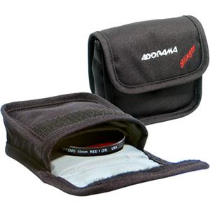 "Adorama Slinger Filter Pouch ""A"" Holds Three 58mm Round or Three ""A"" Series Square Filters B1005P"