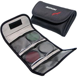 "Adorama Slinger Filter Wallet ""P"" Holds Six 82mm Round or Six ""P"" Series Square Filters B1012P"