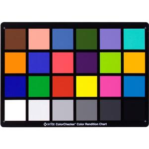 Colorchecker Chart, 8.5in x 11.5in: Picture 1 regular