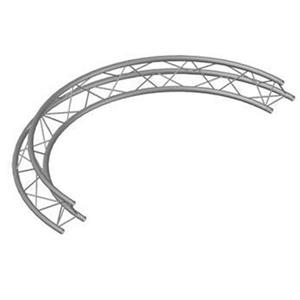 Global Truss 9.84' (3.0m) Circle 2 x 180 Degree Arcs TR-C3-180-F23