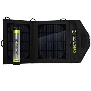 Goal Zero Switch 8 Solar Recharging Kit Includes Solar Panel and USB Battery Charger 41001