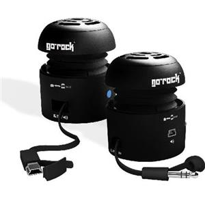 Grandmax SPKR-GR1 Go Rock Mini Portable Speaker SPKR-GR1-BK