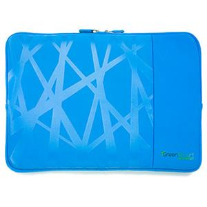 Greensmart Akepa Netbook Sleeve, Blue Ice: Picture 1 regular