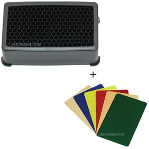 "Harbor Digital Quick Spot Large 1/4"" Honeycomb Grid QSLG-A14S"