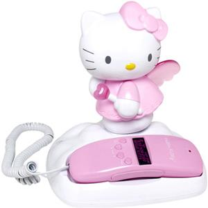 Hello Kitty KT2010A Light-Up Corded Telephone KT2010A